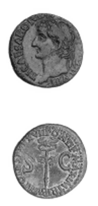Tiberius (A.D. 14-37), As, lau
