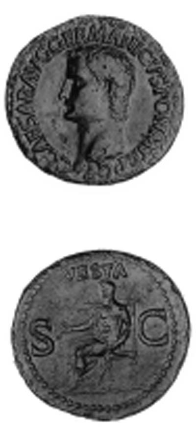 Caligula (A.D. 37-41), As, bar