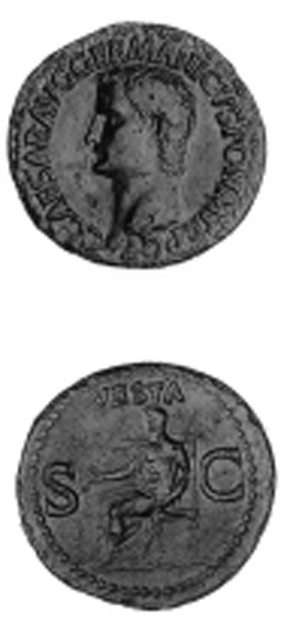 Caligula (A.D. 37-41), As, bar