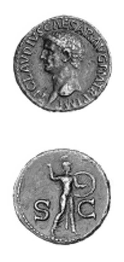 Claudius I (A.D. 41-54), As, b