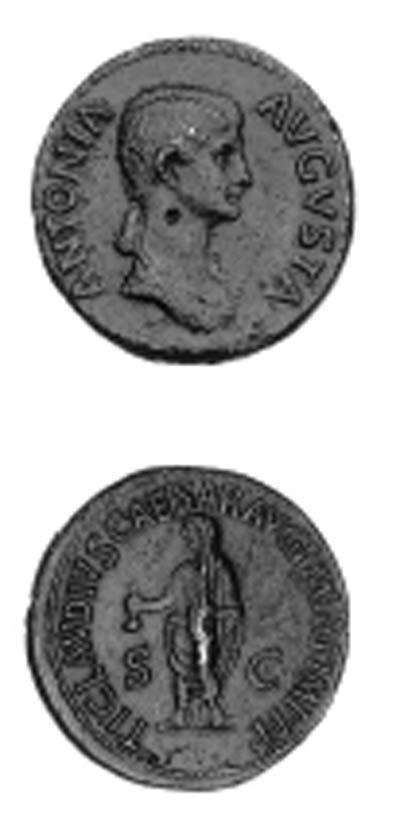 Antonia (mother of Claudius I)