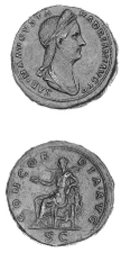 Sabina (wife of Hadrian), Sest