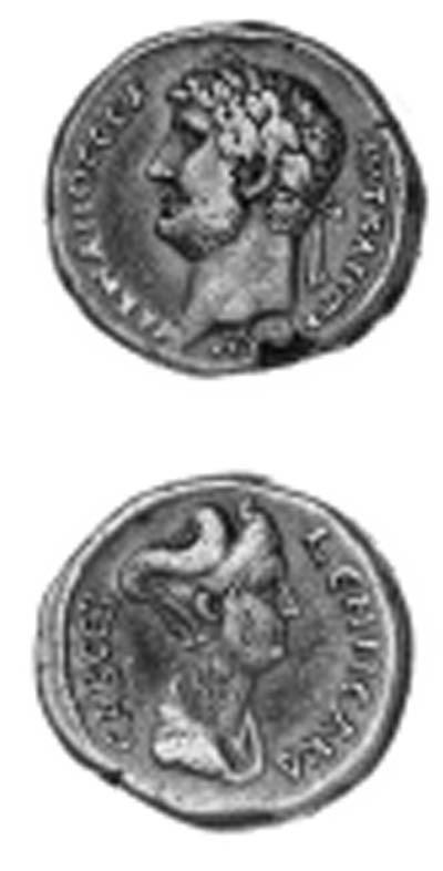 Hadrian and Sabina (117-138),