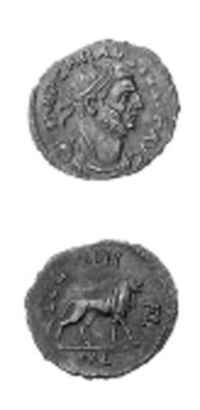 Carausius (A.D. 287-293), Anto