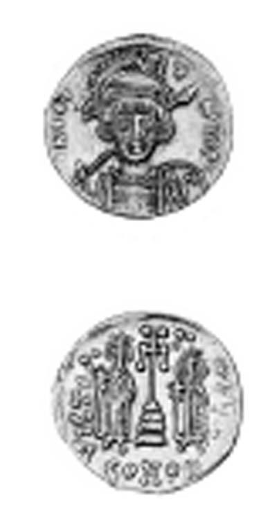 Constantine IV, Solidus, helme