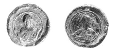 Iconographic seal (11th-12th c