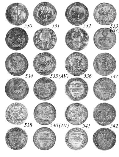 Alvise Pisani, Osella, 1738, A