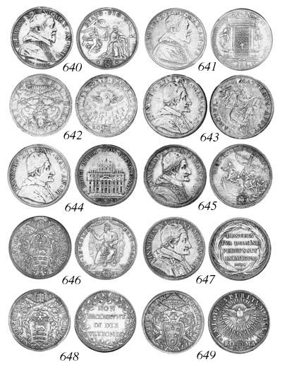 Sede Vacante (1689), Piastra,