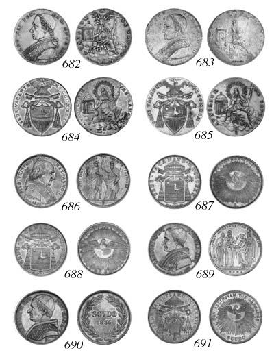 Gregory XVI, Scudi romano (3),