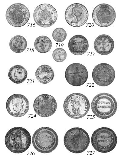 Papal States, Pius VI, 2-Doppi