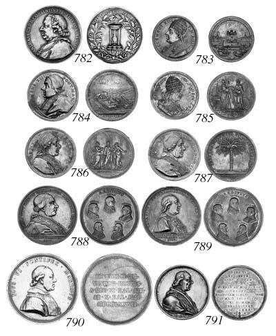 Pius VI, 1782, by Johann Oexle