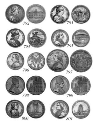 Pius VII, 1804, by Droz and Ja