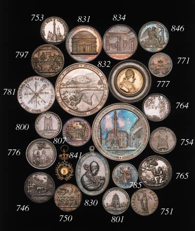 Pius VII, 1805, bust right, we
