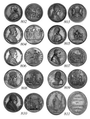 Pius VII, Enlargement of the V