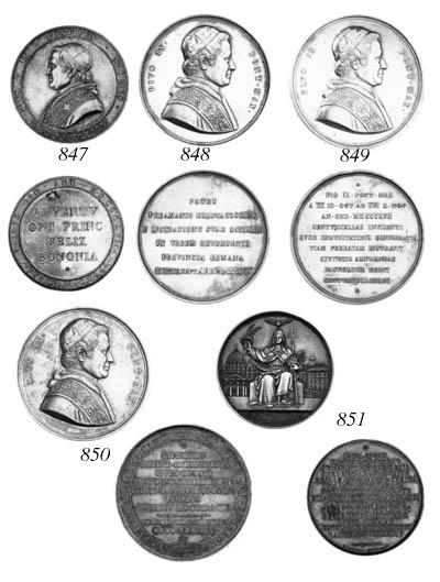 Pius IX, Visit to Bologna, 185