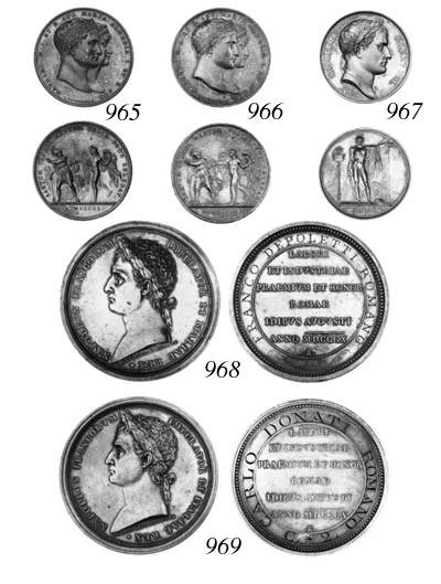 Rome prize medal for Industry,