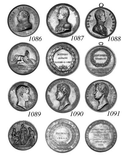 Carlo Felice, prize medal for
