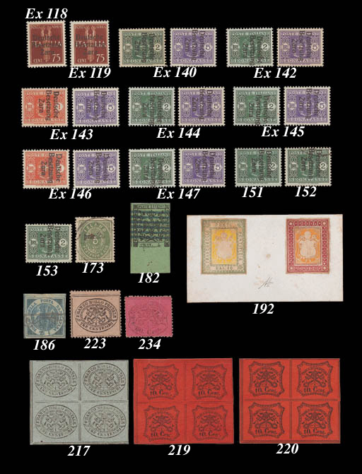 unmounted mint  2l. with Type I overprint showing watermark inverted; fine unmounted mint. M.P10Y, DM.3000. Photo
