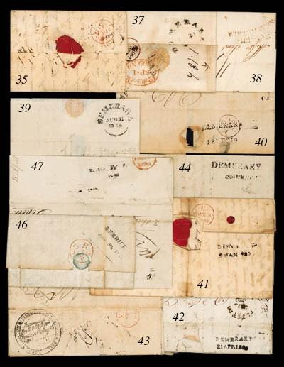 cover 1820 (22 Jan.) entire le