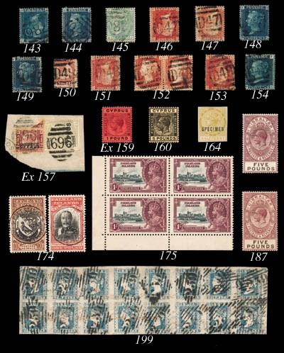 unused  1924-28 ¼pi. to £1, se
