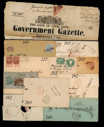 cover 1857 (12 Aug.) envelope