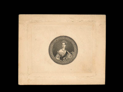 essay  1855 Full-Face Queen, t