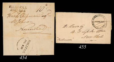 cover 1838 (19 May) entire let