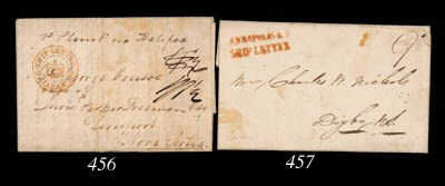 cover 1843 (8 May) entire lett