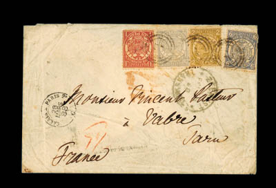 cover 1887 (27 Sept.) envelope