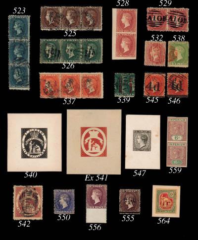 used  1882-83 4d. dull ultrama