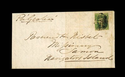 cover 1857 (10 Mar.) entire le