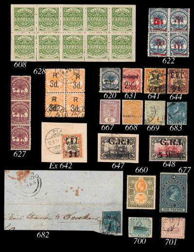 unused  1921-27 Script £5 oran