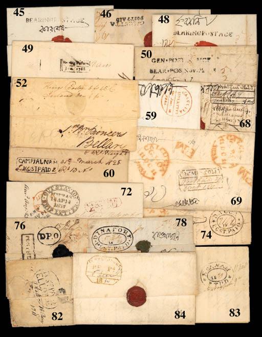 cover Dinapore: 1834 (5 Feb.)