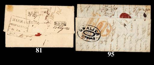 cover Dum Dum: 1845 (6 Dec.) e