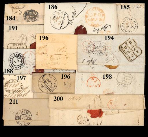 cover 1836 (10 Dec.) entire le