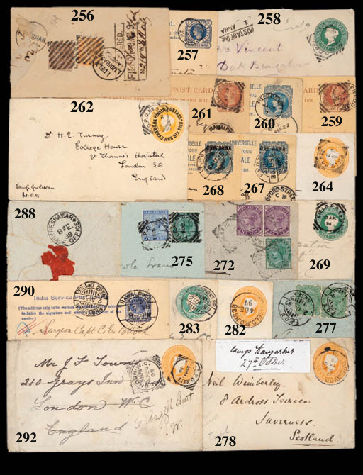 cover 1891 (19 Apr.) E. India