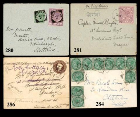 cover 1897 (22 Dec.) envelope