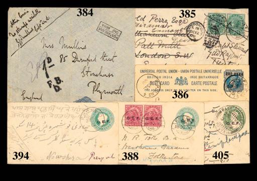 cover 1900 (17 Sept.) C.E.F. 1
