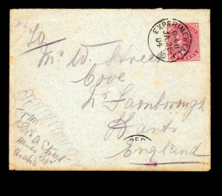 cover 1904 (25 Jan.) envelope