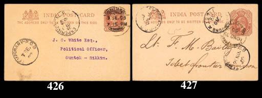cover 1903 (3 Sept.) ¼a. stati