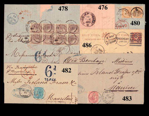 cover 1865 (24 Oct.) entire (s