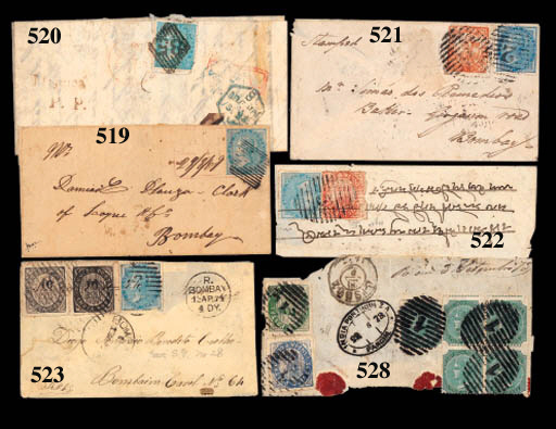 cover 1863 (24 Sept.) entire l