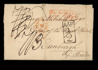 cover 1813 (3 May) entire lett