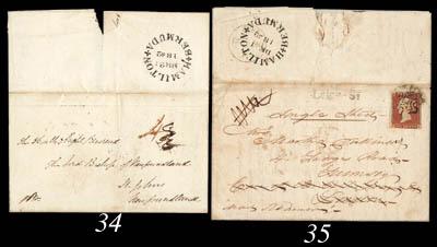 cover 1842 (1 Dec.) entire let