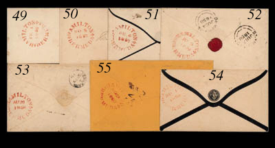 cover 1857 (5 Nov.) small enve