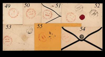 cover 1858 (5 June) envelope t