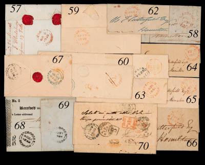 cover 1856 (25 Nov.) envelope