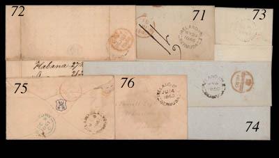 cover 1861 (18 Nov.) envelope