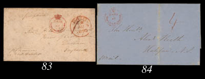 cover 1850 (19 July) envelope