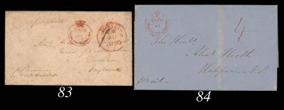 cover 1861 (19 April) entire l